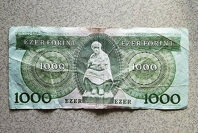 1000 Forint 1996 Hungary Ezer Forint E88595382 ***MAKE US AN OFFER***