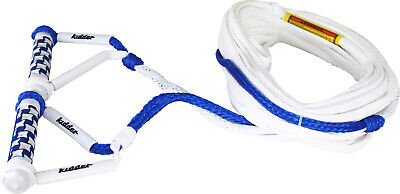 Kidder Eva Double Water Ski Handle & Rope - 70Ft Mainline - Boating Watersports