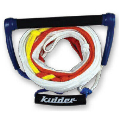 Kidder Team Long Vee Water Ski Handle & Rope - 5 Loop Mainline - Watersports