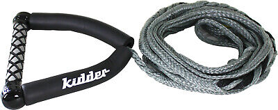 Kidder Wake Surf Water Ski Handle & Rope - 3 Section - 24Ft Mainline