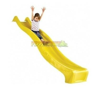 3m Playground Slide with Water Attachment Waterslide Cubbyhouse Assorted Colours