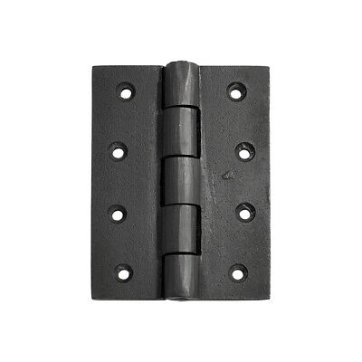 Tradco 1241AF Hinge Cast Iron Antique Finish 100x75mm
