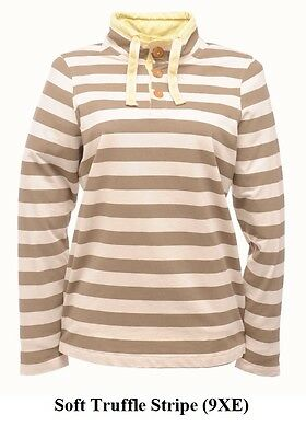 Regatta Ladies Zest Half Buttoned Top in Soft Truffle (RWA070)