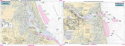 Fishing Map Merrimack River, Plum Island Sound, MA MER304-BC N. Atlantic