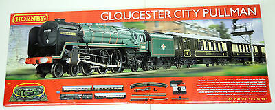 HORNBY 'OO' GAUGE R1177 'GLOUCESTER CITY PULLMAN' TRAIN SET BOXED #224w