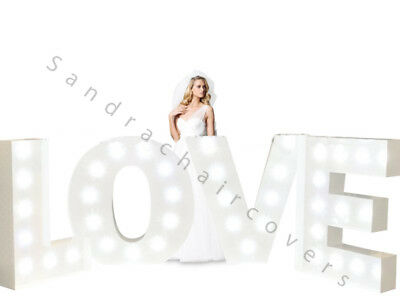 Giant Love Letters LED 4ft- Battery Operated