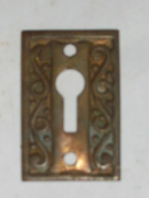 Antique Victorian Era Key Hole Cover #2