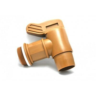 Tap male 2'' BSP output Ø50mm GOLD