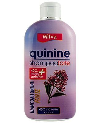40%+ more QUININE Forte Hair Shampoo 200ml, Stops Hair Loss, Boosts Hair Growth