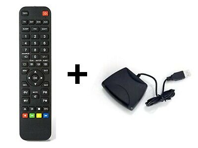 """Superior 4:1"" universal remote control programmable by PC + programmer"