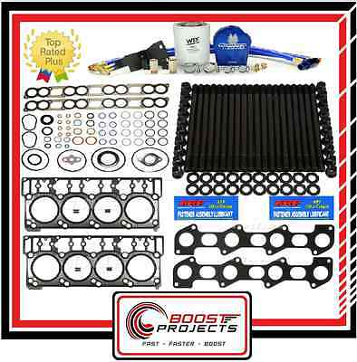 ARP Head Stud&Exhaust&18mm Head Gaskets &Intake Manifold Kit &Filtration System