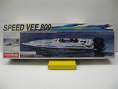KYOSHO SPEED VEE 800 RADIO CONTROLLED ELETTRIC POWERED Lung.940mm Art.40861