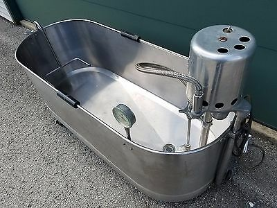 90 Gallon Lo-Boy Mobile Whitehall Whirlpool Hydrotherapy Tub Model JO-312 B