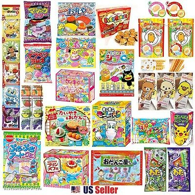 Assorted 10pcs : Popin Cookin Japanese DIY Candy Snack Making Kit (Random)