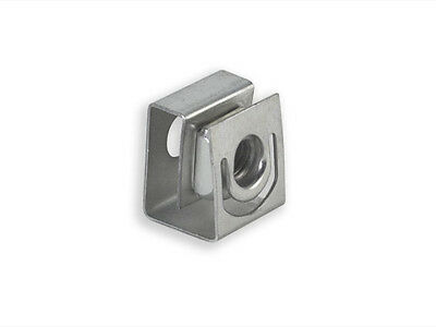 RackGold 10-32 Zinc Slide-on Cage Nuts - 25 Pack USA Made G1032-SLD-Z25