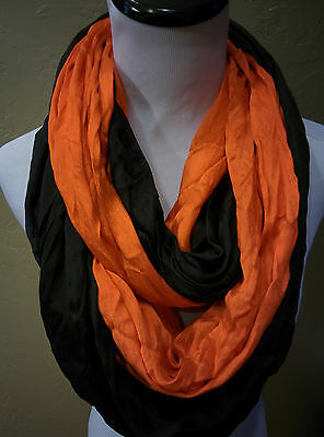 Oklahoma State Cowboys Team Colored  Double Shimmer Infinity scarves!