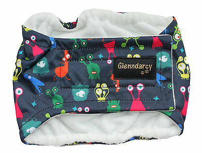 Dog Belly Band Diaper / Urine Marking / Incontinence Waterproof Fabric - Aliens