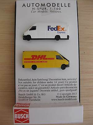 Busch - ref.8304 - 2 Mercedes Benz Sprinter (Fedex - DHL)