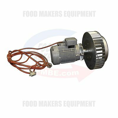 Wp Werner Pfleiderer Gemini Matador Fan Motor Circulation Assembly #30703271