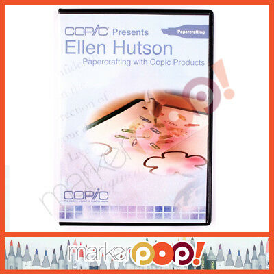 Copic Presents Ellen Hutson Papercrafting with Copic Products DVD BRAND NEW