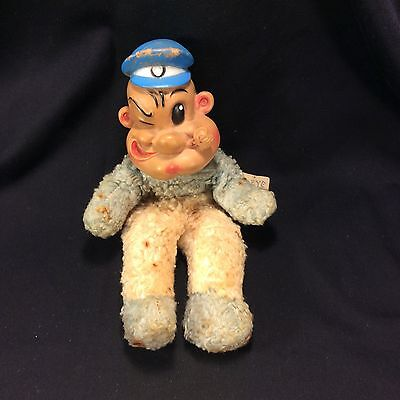 Vintage Popeye Doll By Gund
