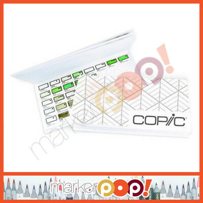 Copic Colors Swatch Book for 358 Color Marker US AUTHORIZED RETAILER