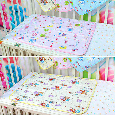 Baby Waterproof Urine Mats Covers Cotton Reusable Washable Changing Pad Hot Sale