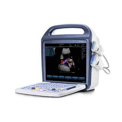 "Veterinary Ultrasound Color Doppler 15"" High Quality w/ Micro-Convex & Linear"