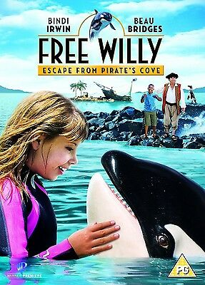 FREE WILLY PART 4 Escape from Pirates Cove DVD New Sealed Original UK Release