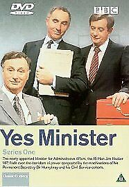 YES MINISTER COMPLETE SERIES 1 DVD BOX SET Seasons All Episodes Brand New Sealed