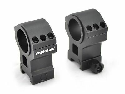 Visionking rifle scope rings 25.4mm 30mm mount 6061 for .223 .308 .50 High