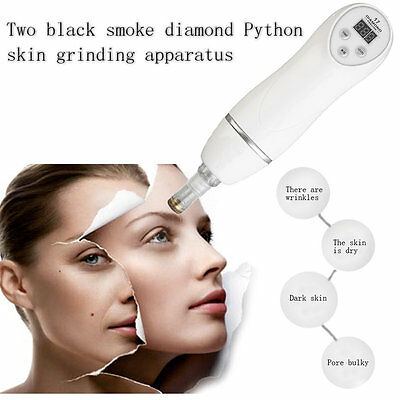 2 In 1 Diamond Dermabrasion Instrument Skincare Device Blackhead Cleaner NR