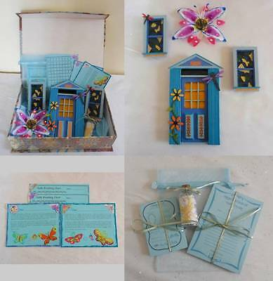 OOAK Interactive Tooth Fairy House Kit- pouch receipt letter fairy dust chart