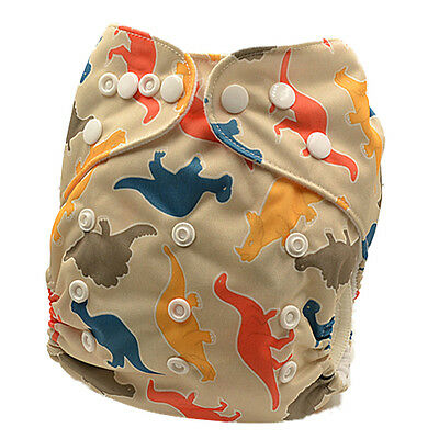 Modern Cloth Nappy Adjustable Reusable FREE Insert MCN Nappies Size 000-2 (D65)