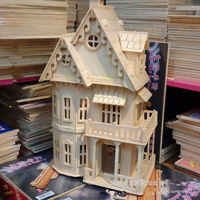 1/24 scale Dolls House Gothic House 6 rooms patience ,picture instrcution