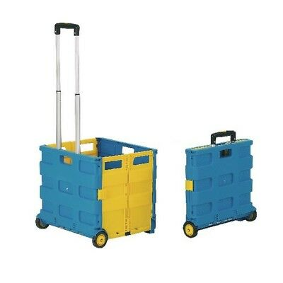 GPC Blue and Yellow Large Folding Box Truck (Pack of 1) GI041Y