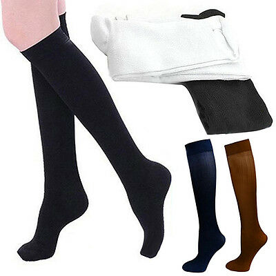 Anti-Fatigue Knee High Stockings Nylon Compression Support Socks Eyeable Nice