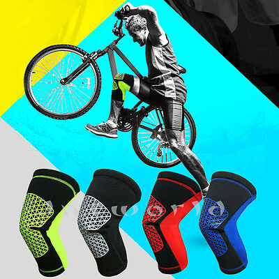 Professional Brace Knee Pad Volleyball Support MMA Protector Outdoor Sports M-XL