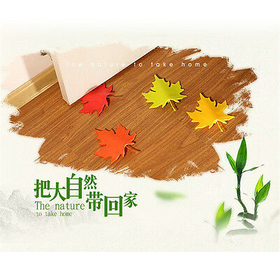 Useful Maple Leaf Style Home Decor Finger Safety Door Stop Stopper New