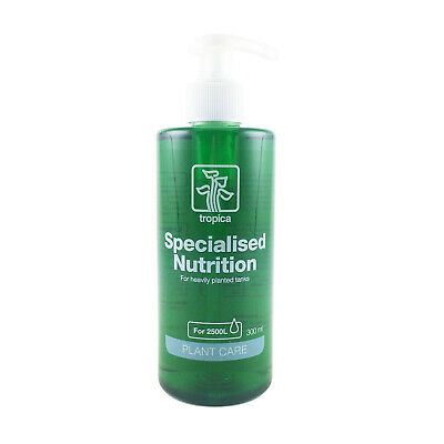 Tropica Specialised Fertiliser 300ml Liquid Fertilizer Planted Aquarium Plants