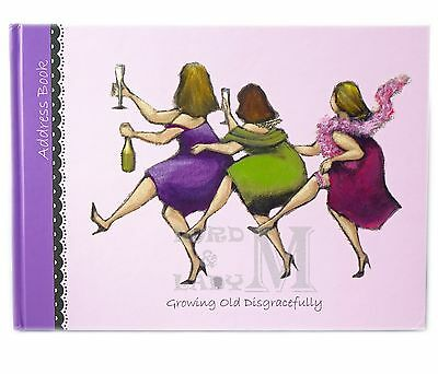 Ladies Who Lunch - Growing Old Disgracefully Address Book - LAST STOCK THIS YEAR