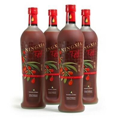 YOUNG LIVING NINGXIA RED  NEW!!  UNOPENED!!  Four 750 ml bottles in one carton!