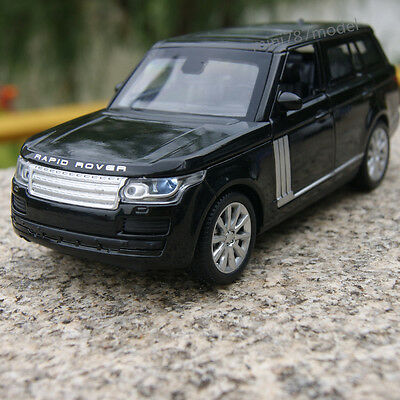 Land Rover Range Rover Car Model 1:32 SUV Pull Back Toy Black gift Alloy Diecast