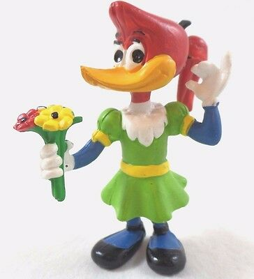 "Woody Woodpecker Gal WINNIE PVC Comics Spain New 3"" Tall '84 Topper Figure Set"