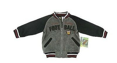 BRAND NEW BABY BOYS FLEECY ZIP JACKET BOYS WEAR BY NAMETTE SIZES 12m,  18m, 24m