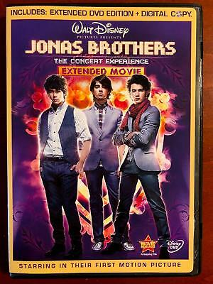 Jonas Brothers - The Concert Experience (DVD, 2009, Disney) - E0331