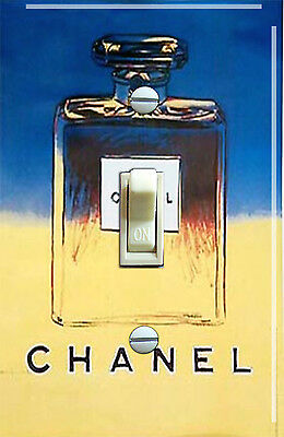 Vintage Channel No. 5 Single Switch Plate  ***FREE SHIPPING***