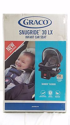Graco SnugRide 30 LX BABY CAR SEAT, Click Connect Adjustable CAR SEAT, Banner