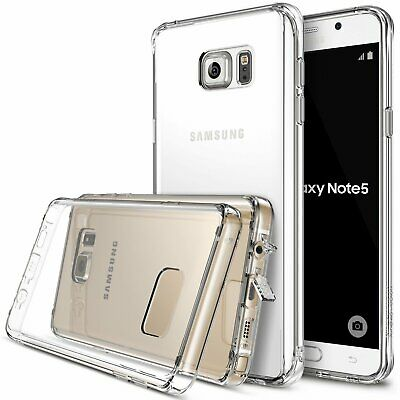 Samsung Galaxy Note 5 Case | Ringke FUSION Clear Shockproof Protective Case