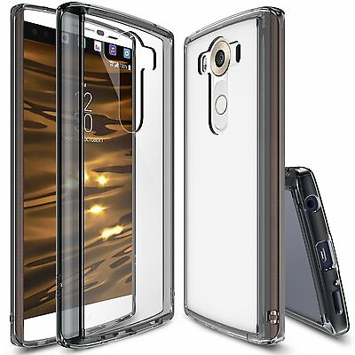 For LG V10 | Ringke [FUSION] Clear Shockproof Drop Protective Bumper Case Cover